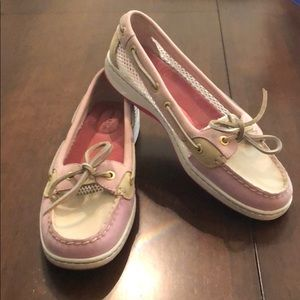 Sperry Top-sides pink boat shoes